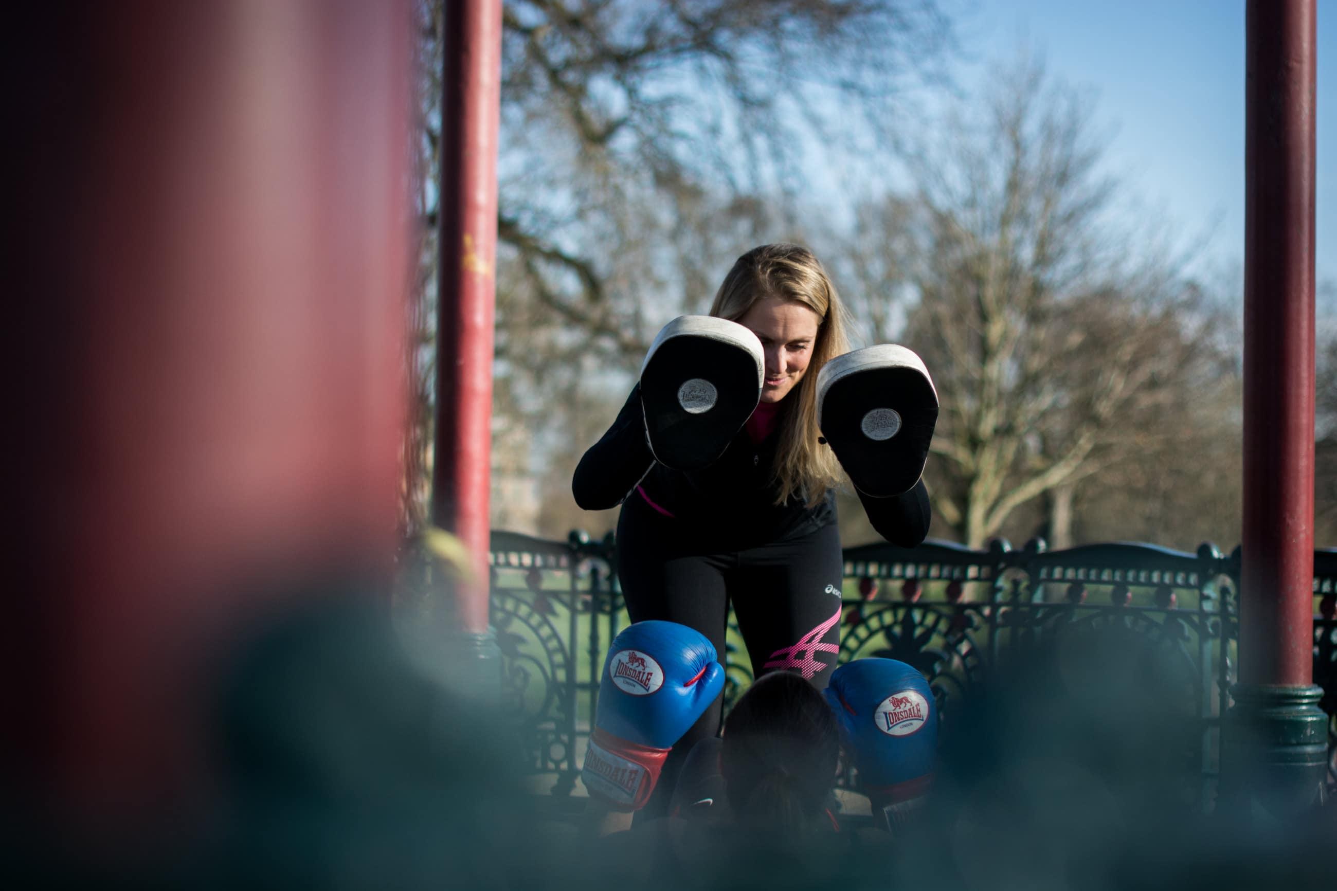 Boxing, Sarah O'Neill, London Personal Trainer | Matt Badenoch Photography