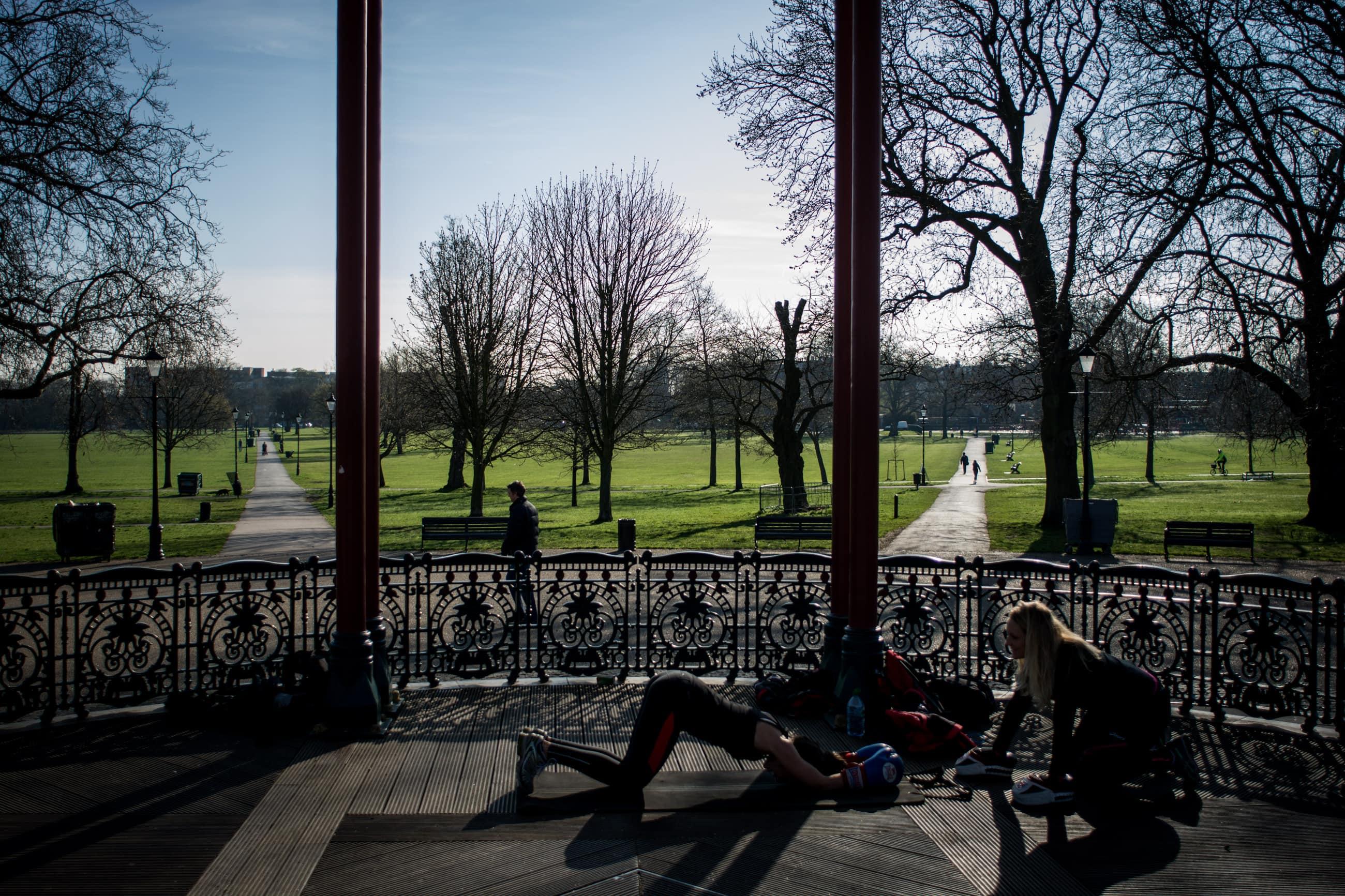 Clapham Common, Sarah O'Neill, London Personal Trainer | Matt Badenoch Photography