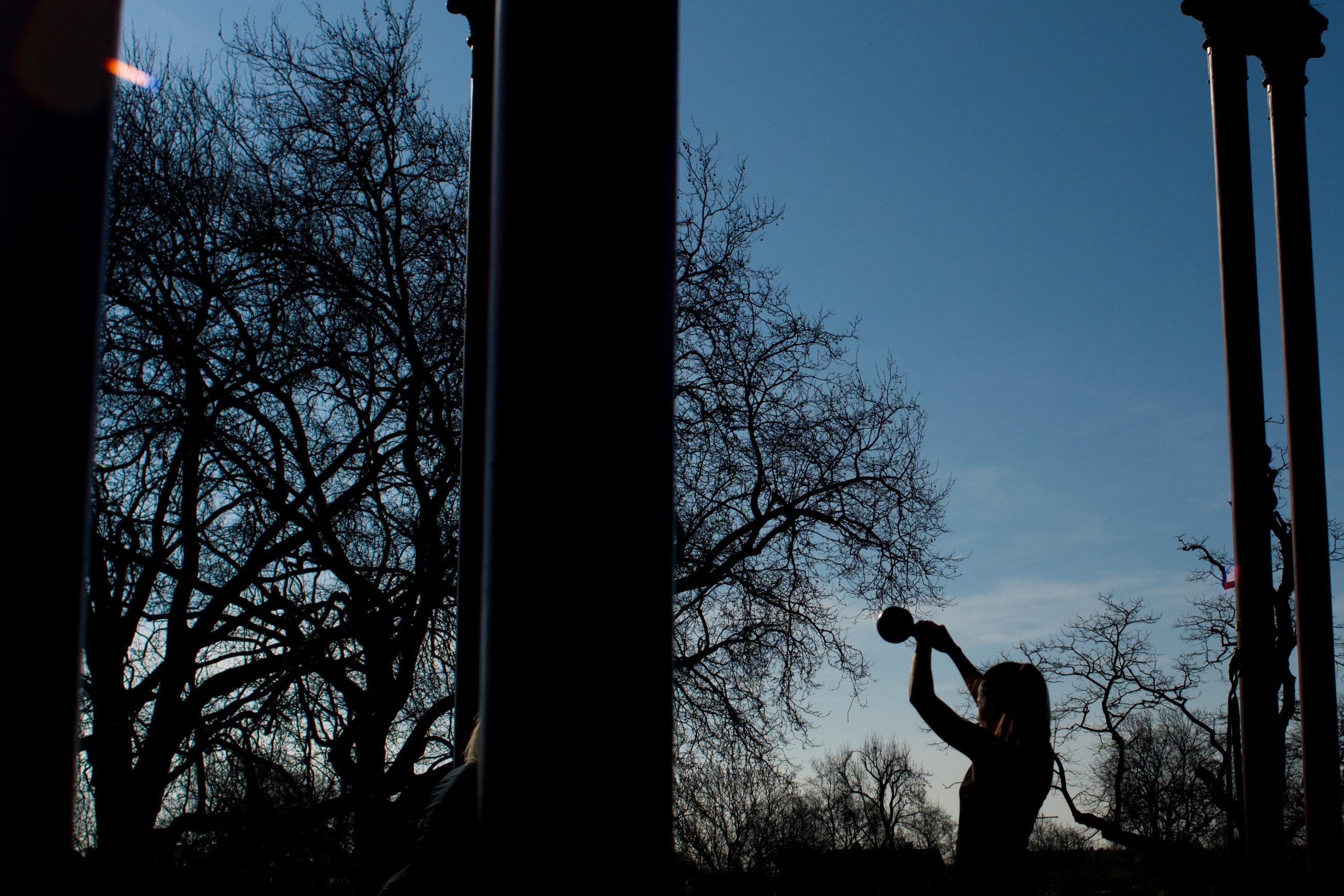 Clapham Band Stand, Sarah O'Neill, London Personal Trainer | Matt Badenoch Photography