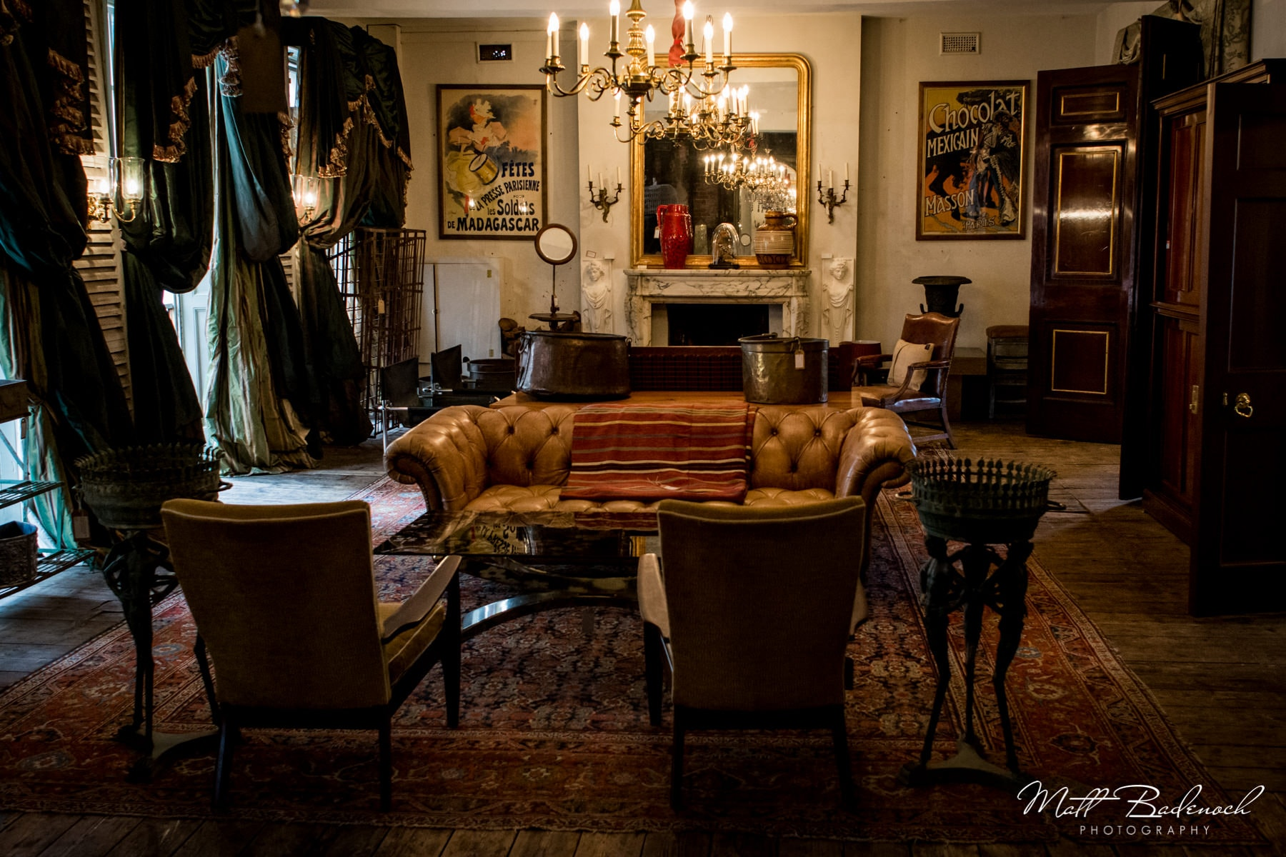 Room, Brunswick House, London Wedding Venue | Matt Badenoch Photography