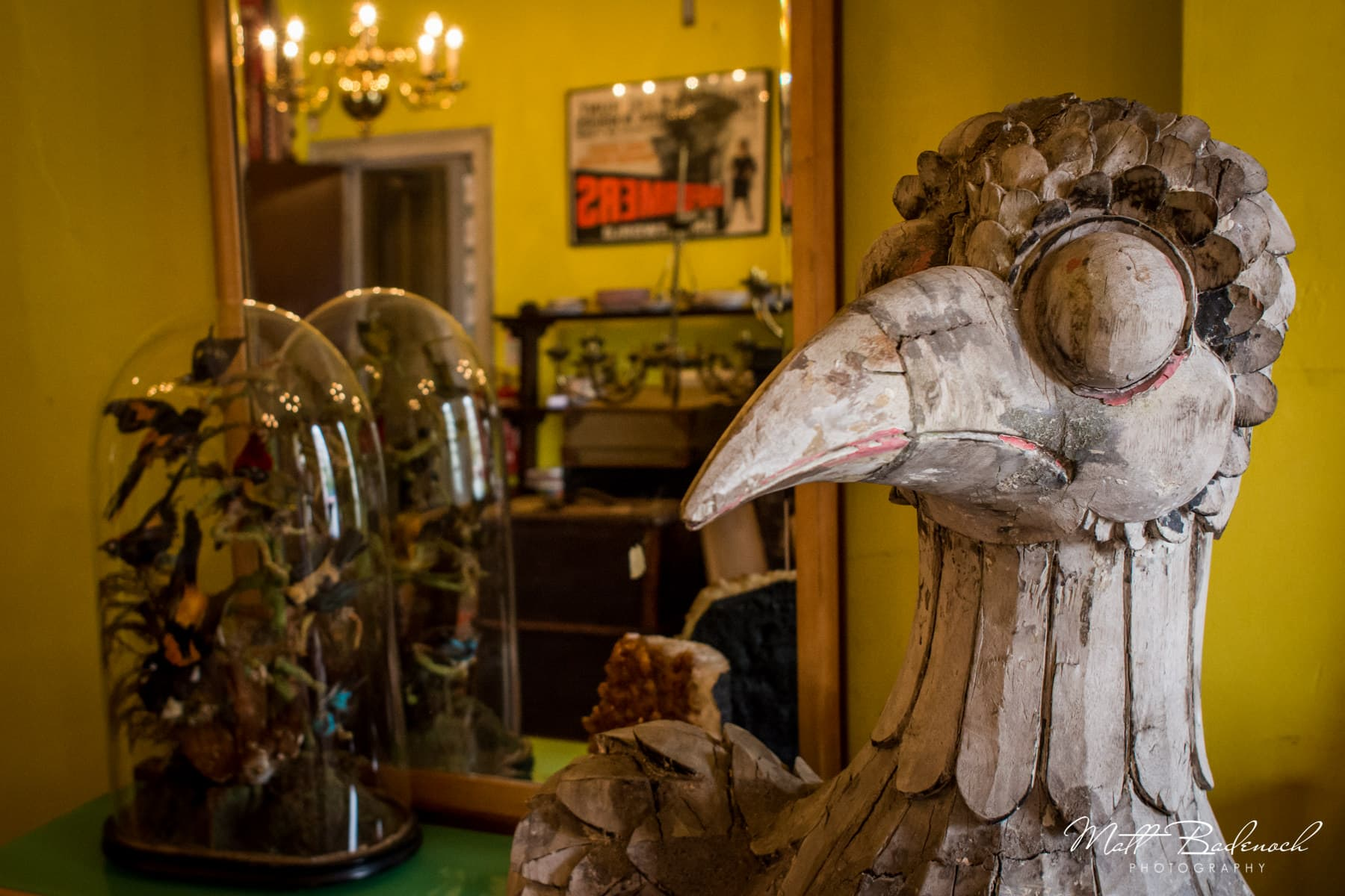 Strange Bird Stature, Brunswick House, London Wedding Venue | Matt Badenoch Photography