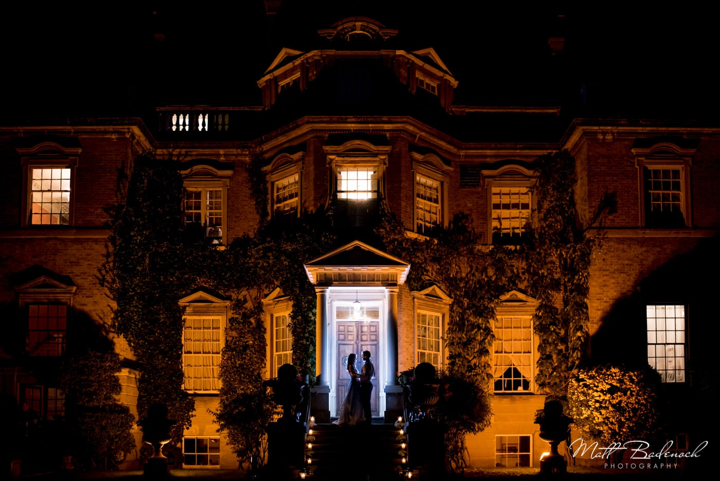 a winter wedding at hampton court house in London